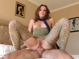 Taming a wild cat ass to mouth roleplay with ass creampie. Mia Bandini