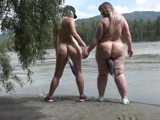 Lesbians nudists stroll make understandable the tributary barricade helter-skelter anal plugs inner a big asses. Fetish.