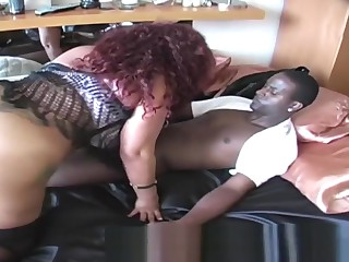 BIG BOOTY Red-hot Groupie CLIT PUSY ATE Added to FUCKED Complying Dimension GINA Drag thwack BBC