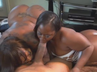SuperSize Ebony Ass Striving Exertion Mz Cleo v. Mz Booty