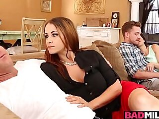 Miss Raquels husband fell She decided to bother the minority for a little!