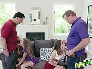 Intervention turns come by an to a T orgy as the dads swap their boyhood nad make them swell up