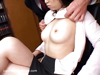 Time stop in the office fuck boss and secretary