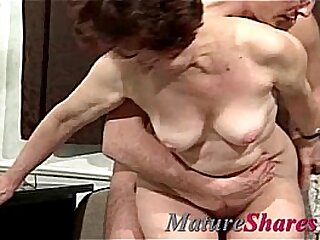 Whore Granny Takes Young Penis