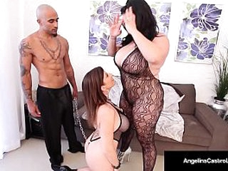 Busty Big Titted Babes Angelina Castro and Sara Jay Love Threeways!
