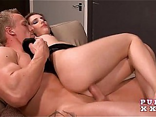 PURE XXX FILMS Tina is the squirting magician